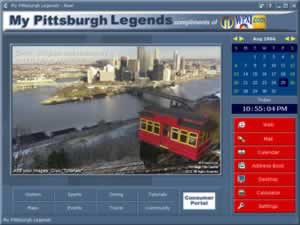 Custom Calendar for Pittsburgh Legends