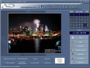 Custom Calendar for Promotions For You
