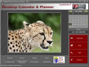 Custom Calendar for Wildlife Pictures Online